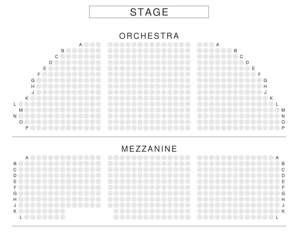 Dear Evan Hansen Seating Chart In 2020 Music Box Theater Seating Charts Seating Plan