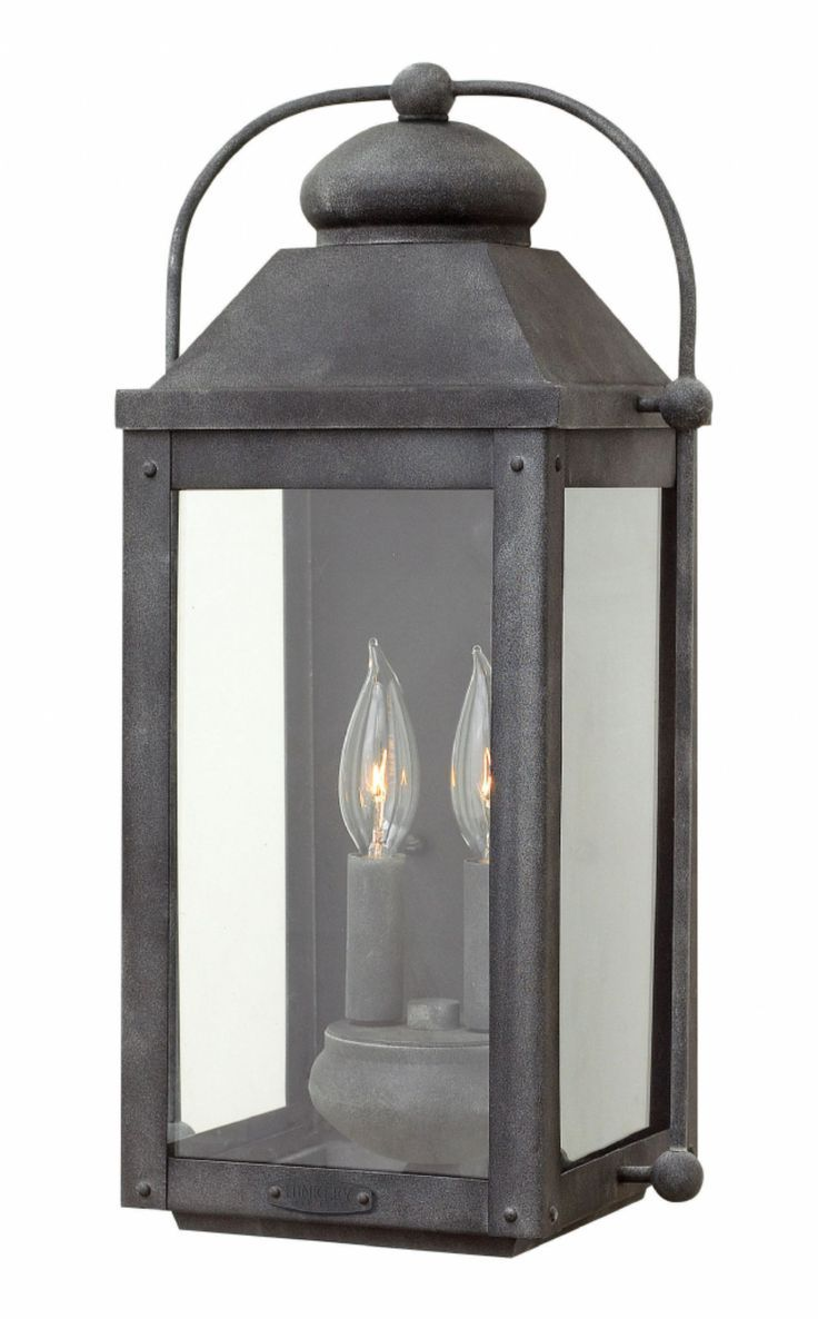 Hinkley lighting carries many aged zinc anchorage lanterns light buy the hinkley lighting aged zinc direct shop for the hinkley lighting aged zinc 2 light outdoor wall sconce from the anchorage collection and save aloadofball Choice Image