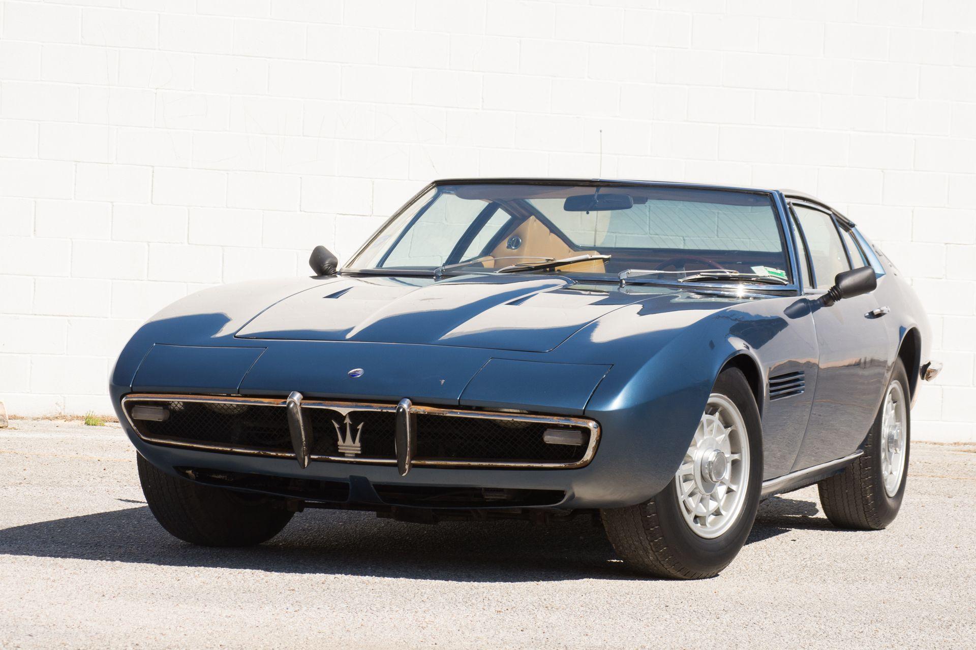 Matching-Numbers 1968 Maserati Ghibli 4.7 Coupe