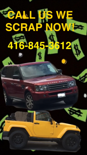 Buy Used Cars Toronto >> 100 5000 We Buy Used And Scrap Cars Toronto Tow And