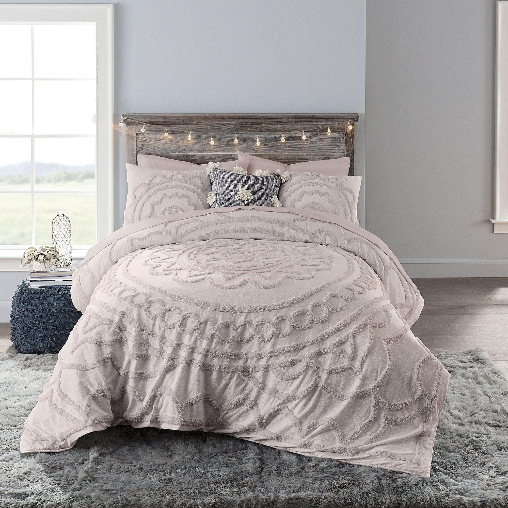 Anthology Tufted Medallion Comforter Set Bed Bath Beyond