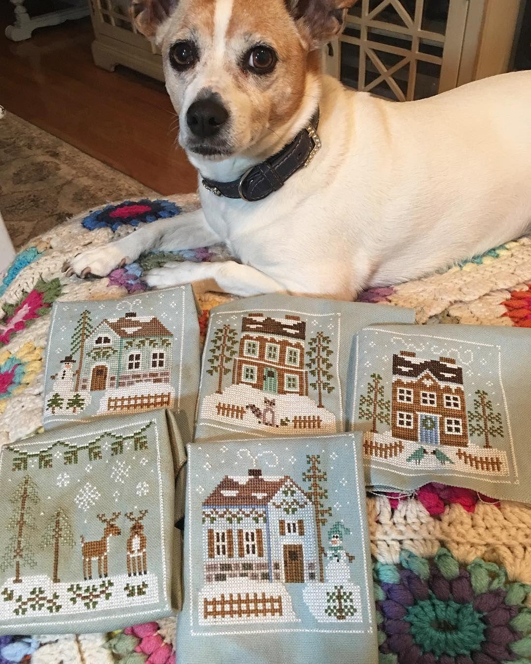 Priscilla Blain - Instagram | Sewing | Cross stitch patterns
