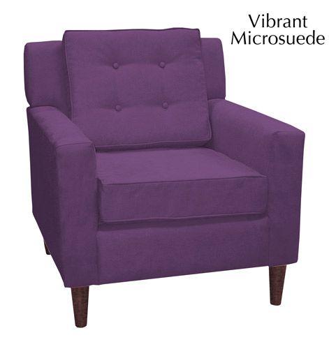 Charming Purple Armchair