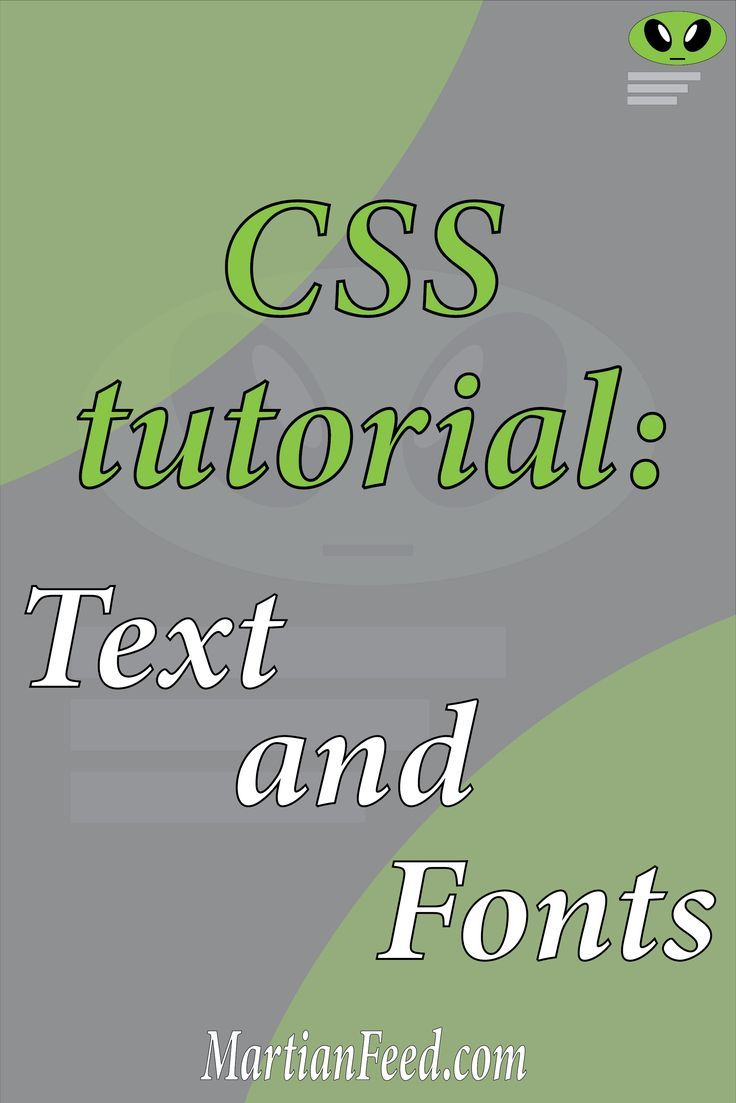 Css text and fonts with images css tutorial css web