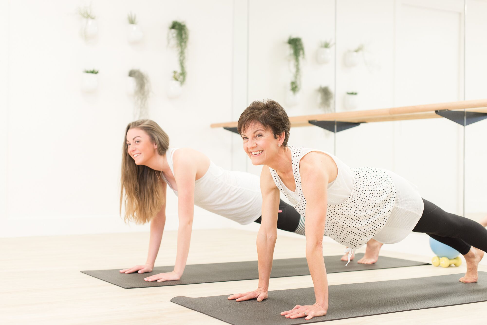 Anyone can do barre. You can be new to yoga, Pilates