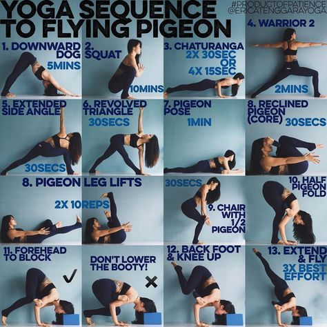 yoga sequence to flying pigeon 3 years ago i didn't even