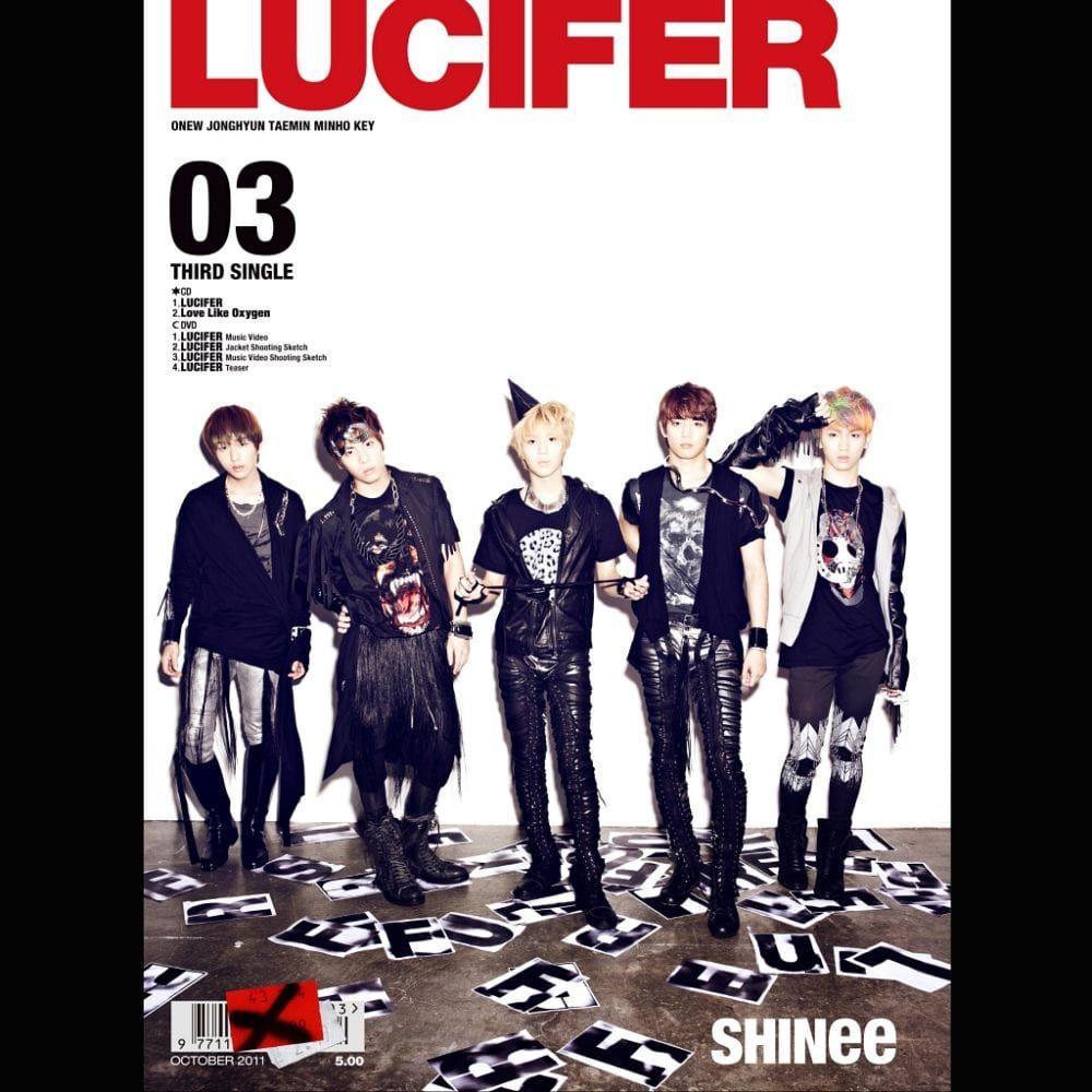 Deviant Shinee Lucifer Lyrics   Asdela
