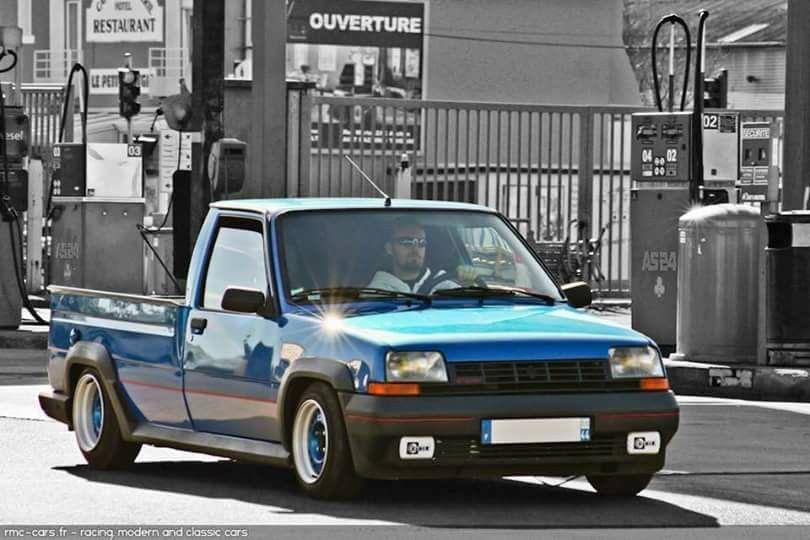 Piękne, sportowe samochody zwracają uwagę każdego. RENAULT super5 GT pick-up ?!   Voiture renault, R5 gt