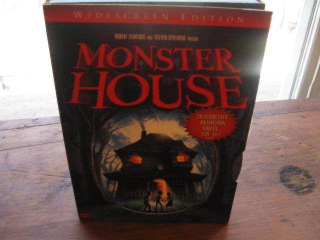 Monster House Dvd Interactive Animation Wheel Halloween Thriller Widescreen Monster House Halloween Movies Halloween