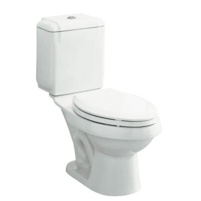 Sterling Rockton 2 Piece 1 6 Gpf Elongated Front Toilet In White