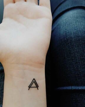 Father Son Holy Spirit Tattoo : father, spirit, tattoo, First, Triangle, Father, Spirit., Husband,, Wife,, Resembles…, Husband, Tattoo,, Marriage, Tattoos,, Tattoo