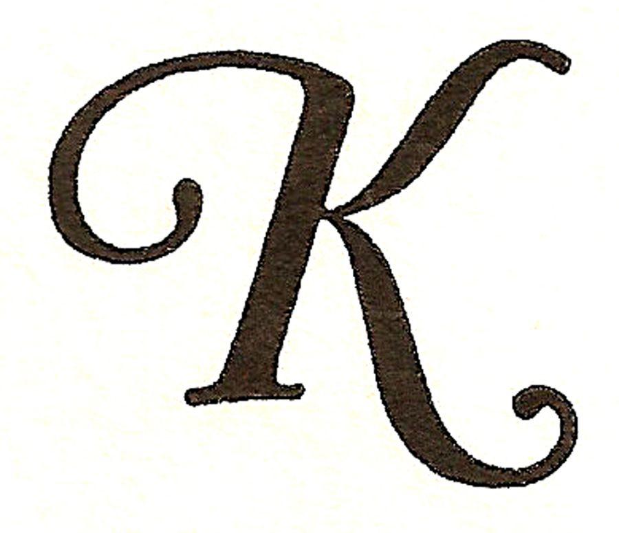CatnipStudioCollage : Monogram Monday  The Letter K   Cliparts.co
