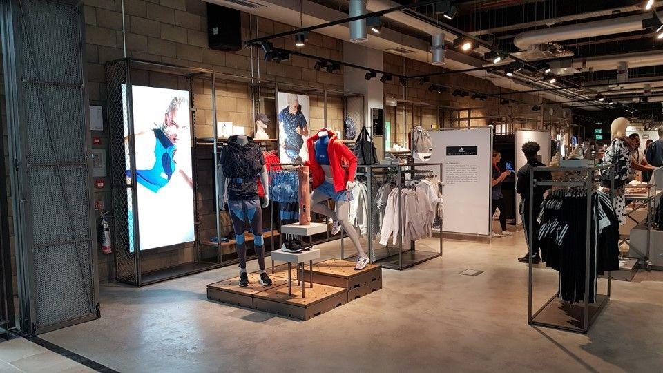 The new adidas store at Westfield White City 3e881fb41