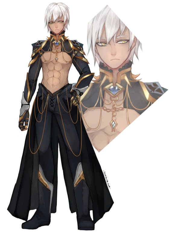 Fullbody 0404175 By Soleilrune Deviantart Com On Deviantart Anime Character Design Black Anime Characters Anime Guys