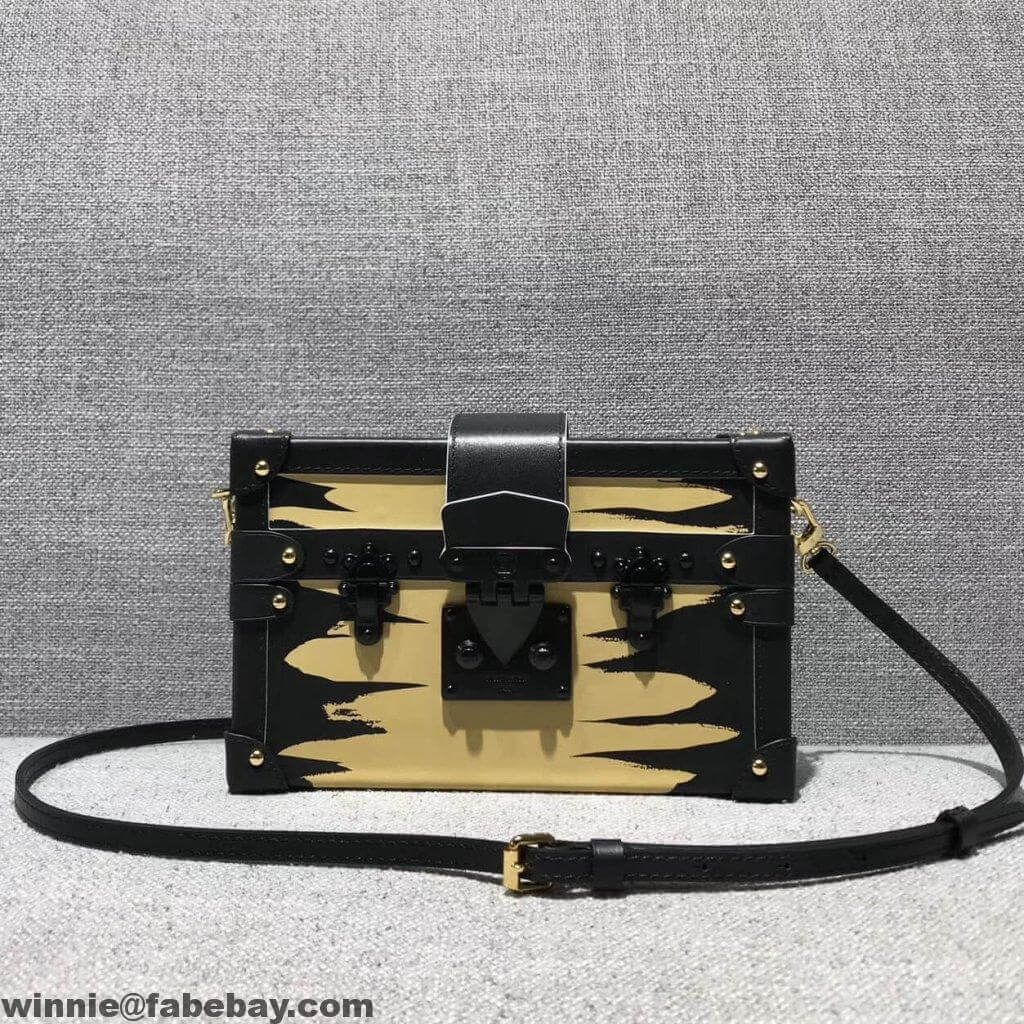a8137363e6d8 Louis Vuitton Golden Light City Petite Malle Bag 2018
