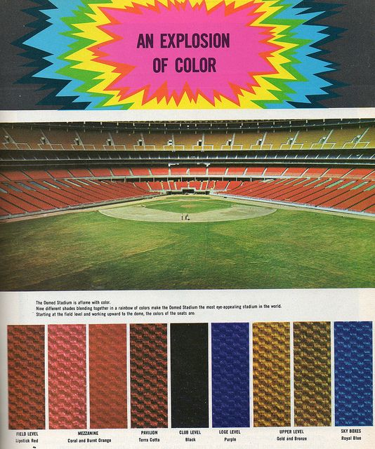 Astrodome Seating Guide 1965 By Drive In Mike Via Flickr Wonders Of The World Galveston Houston Texas