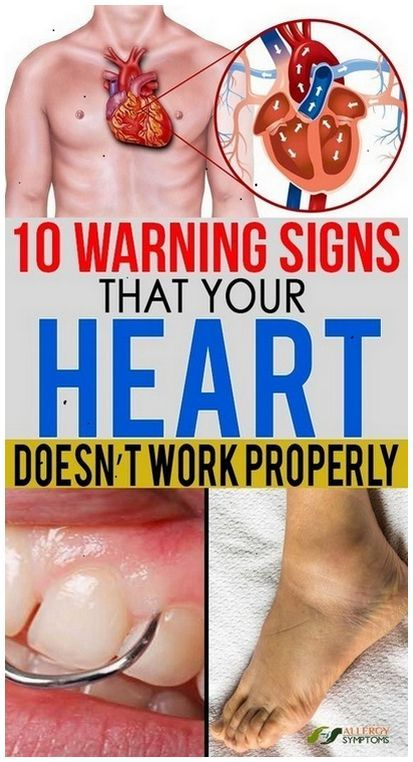 10 Warning Signs That Your Heart Doesn't Work Properly