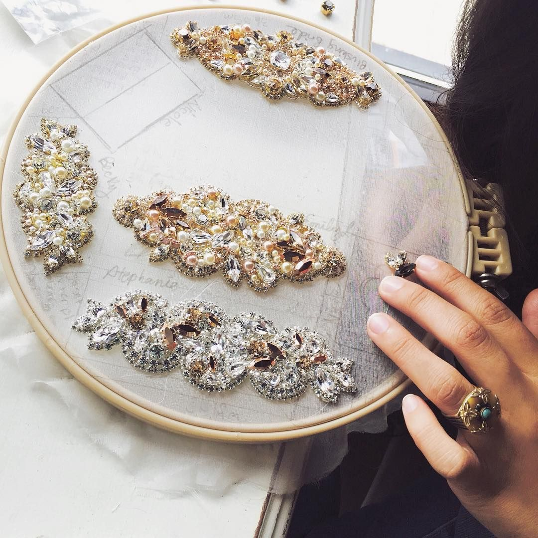 """228 Likes, 8 Comments - H E L E N A  N O E L L E (@helenanoellecouture) on Instagram: """"Intricate details....xoxo"""""""
