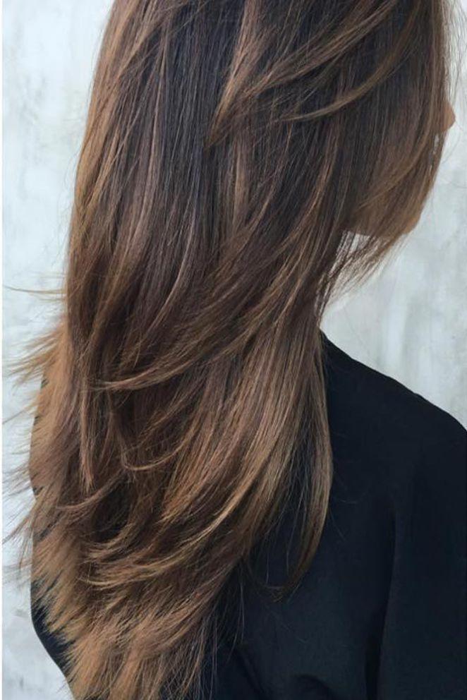 nouvelle tendance coiffures pour femme 2017 2018 les styles de cheveux longs permettent une grande