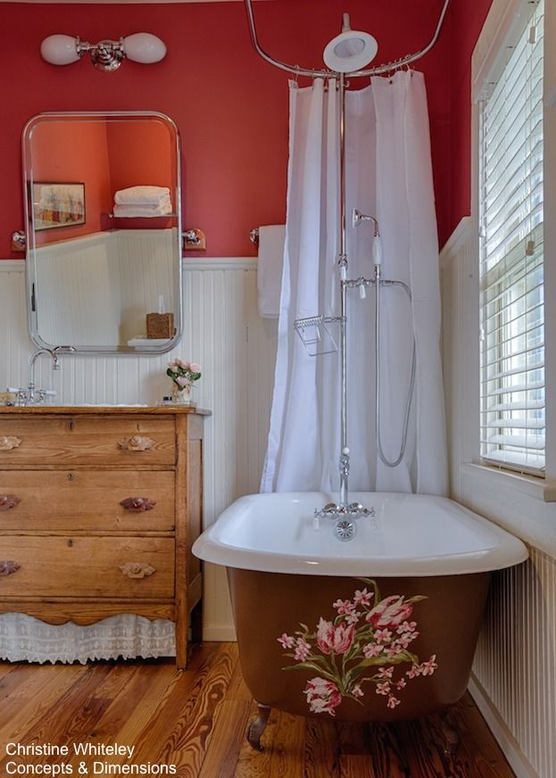 How To Add A Shower To A Freestanding Tub | Freestanding tub, Tubs ...