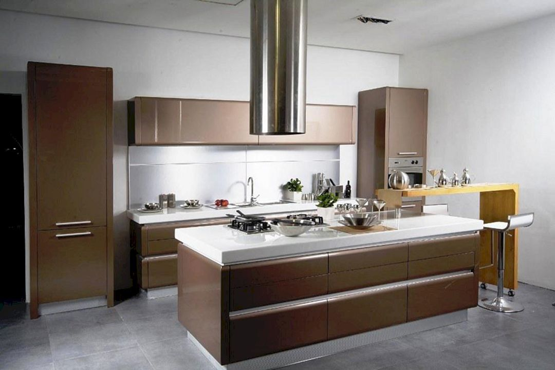 17 Small Kitchen Island Design To Look Wider And More ...