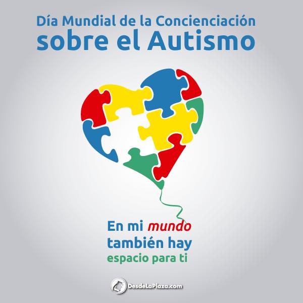 02 de Abril es el Día Mundial de la Concienciación sobre el Autismo. ¡Vamos a hacerle saber que no están solos! #DiaMundialAutismo