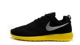 Nike YouTube Roshe Run Black/Yellow FREE!!! YouTube Nike Stuff to 630a19