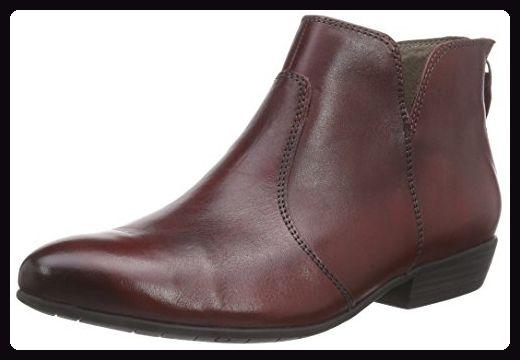 tamaris kurzschaft stiefel rot