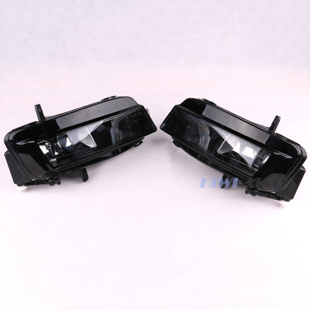 88.99$  Buy here - http://alitmb.worldwells.pw/go.php?t=32591132500 - Pair OEM Front Right & Left Bumper Fog Light Halogen Lamp for VW Golf MK7 2013- 5GG941662 5GG 941 662 5G0941661 5G0 941 661 88.99$