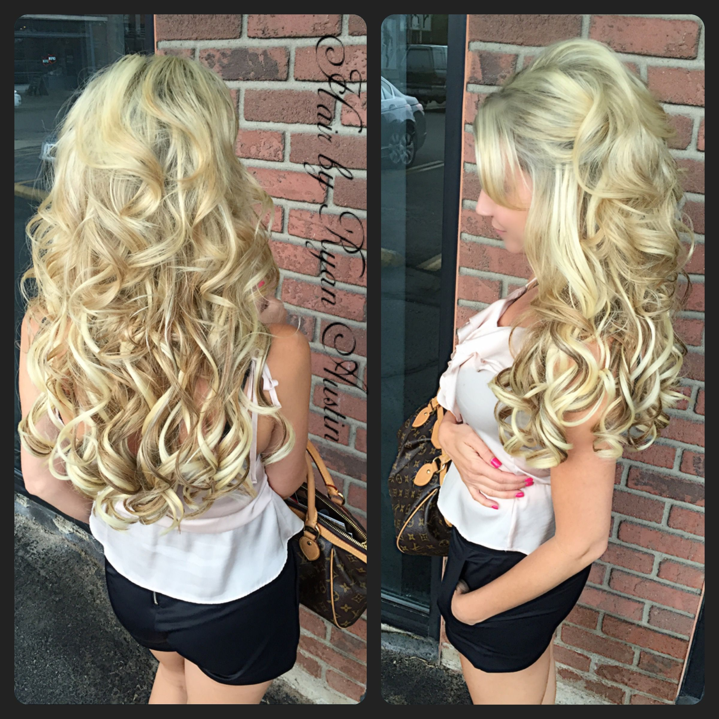 Hair By Ryan Austin Schneider Blonde Columbusohio Extensions Www