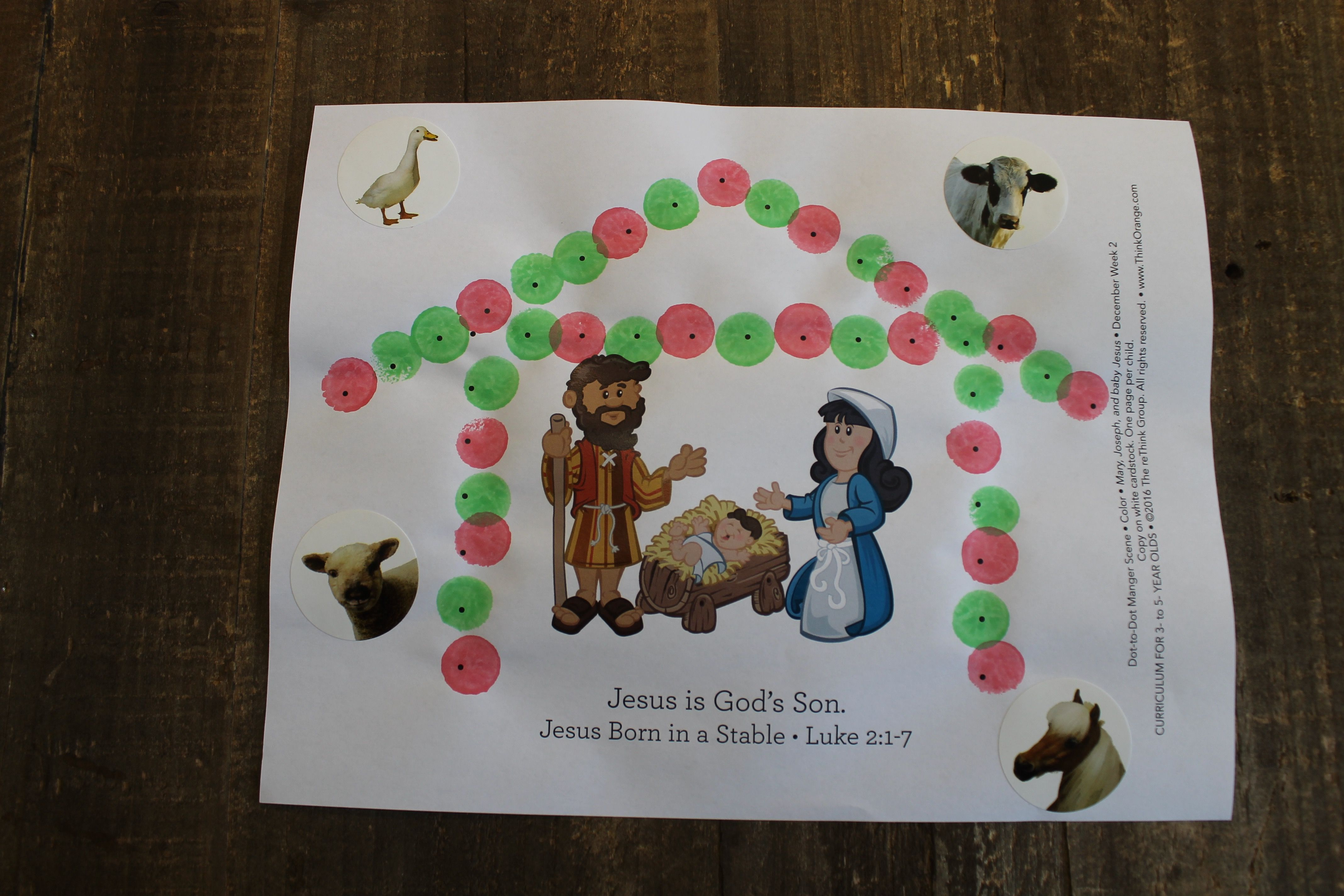 Sample Craft For Mary Joseph And Baby Jesus 3s 5s Week 2