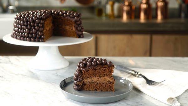 Bolo De Chocolate Com Recheio Maltado Recipe Chocolate Recipes