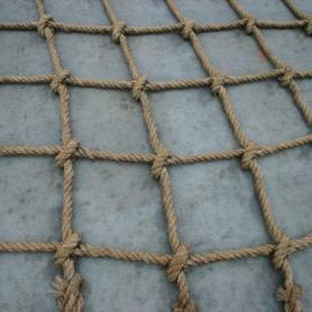 How To Make Rope, Net Making