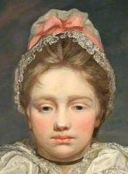 Margaret Joy Doughty, 1774 by James Northcote_detail