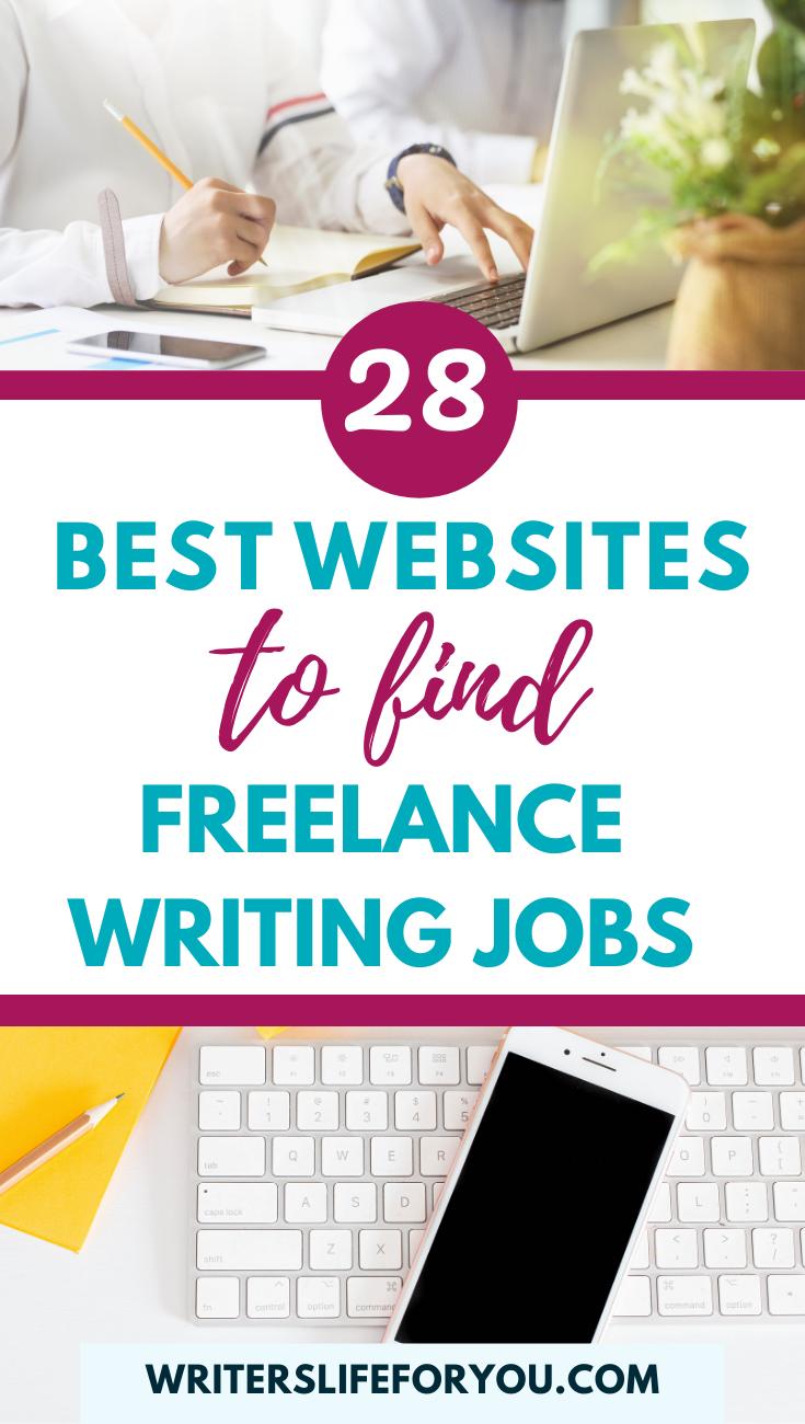 28 Best Websites To Find Freelance Writing Jobs In 2020 Freelance Writing Jobs Freelance Writing Writing Jobs