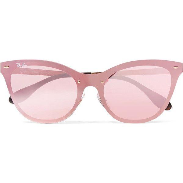 Cat-eye Acetate Sunglasses - Pink Ray-Ban NECxf1O