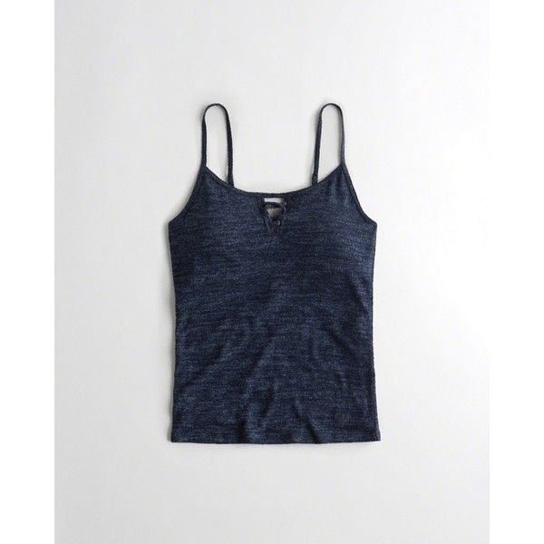 9919ca18732 Hollister Strappy Shelf Cami With Removable Pads ( 20) ❤ liked on Polyvore  featuring intimates