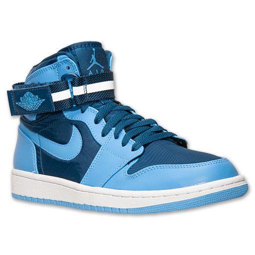 Men's Air Jordan Retro 1 High Strap Basketball Shoes - 342132 407 | Finish  Line |. Jordan Retro 1Finish LineFrench BlueNike ...