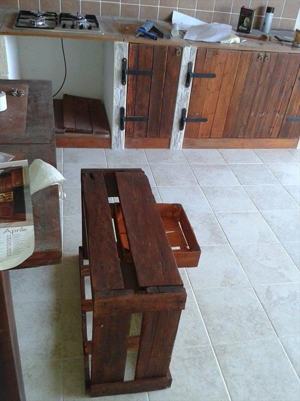 Diy Pallet Kitchen Remodeling Pallets Who Knew Palettenmobel