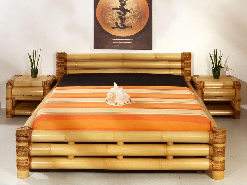 Samar Bambusbett Abaca Collection Bambusbett Bett
