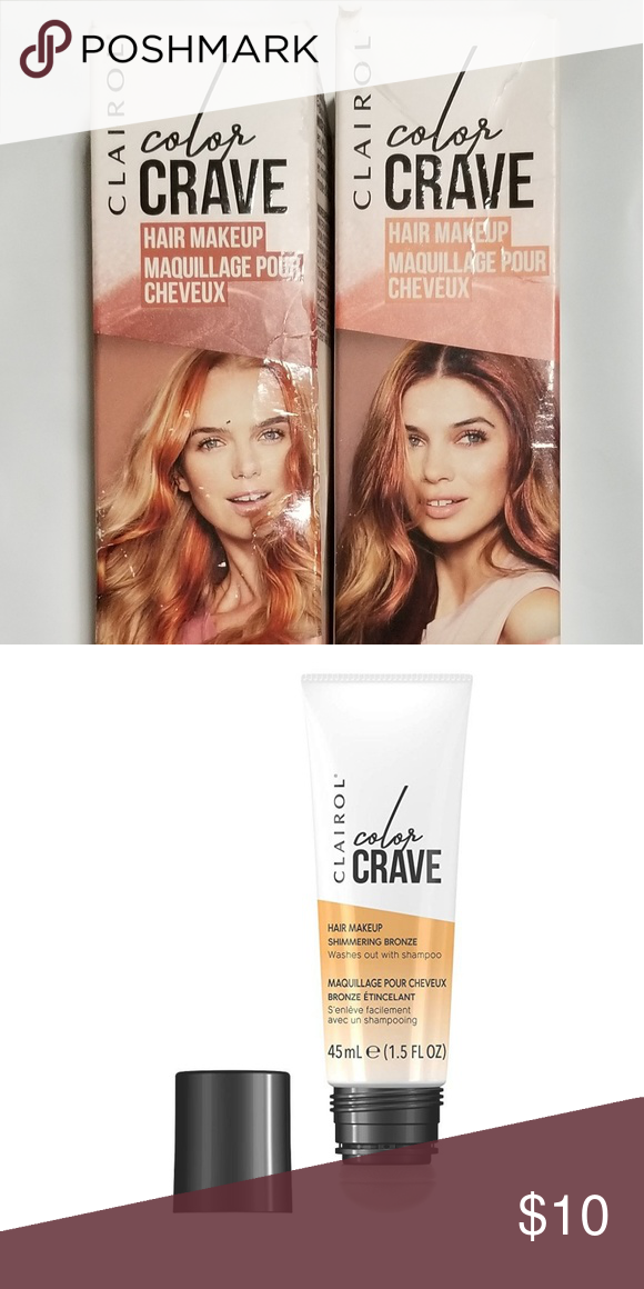 Clairol Color Crave Shimmering Hair Makeup Clairol