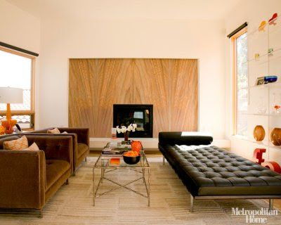 The Different Couches Create Asymmetrical Balance With Images Mid Century Modern Interior Design Mid Century Interior Design Mid Century Modern Living Room