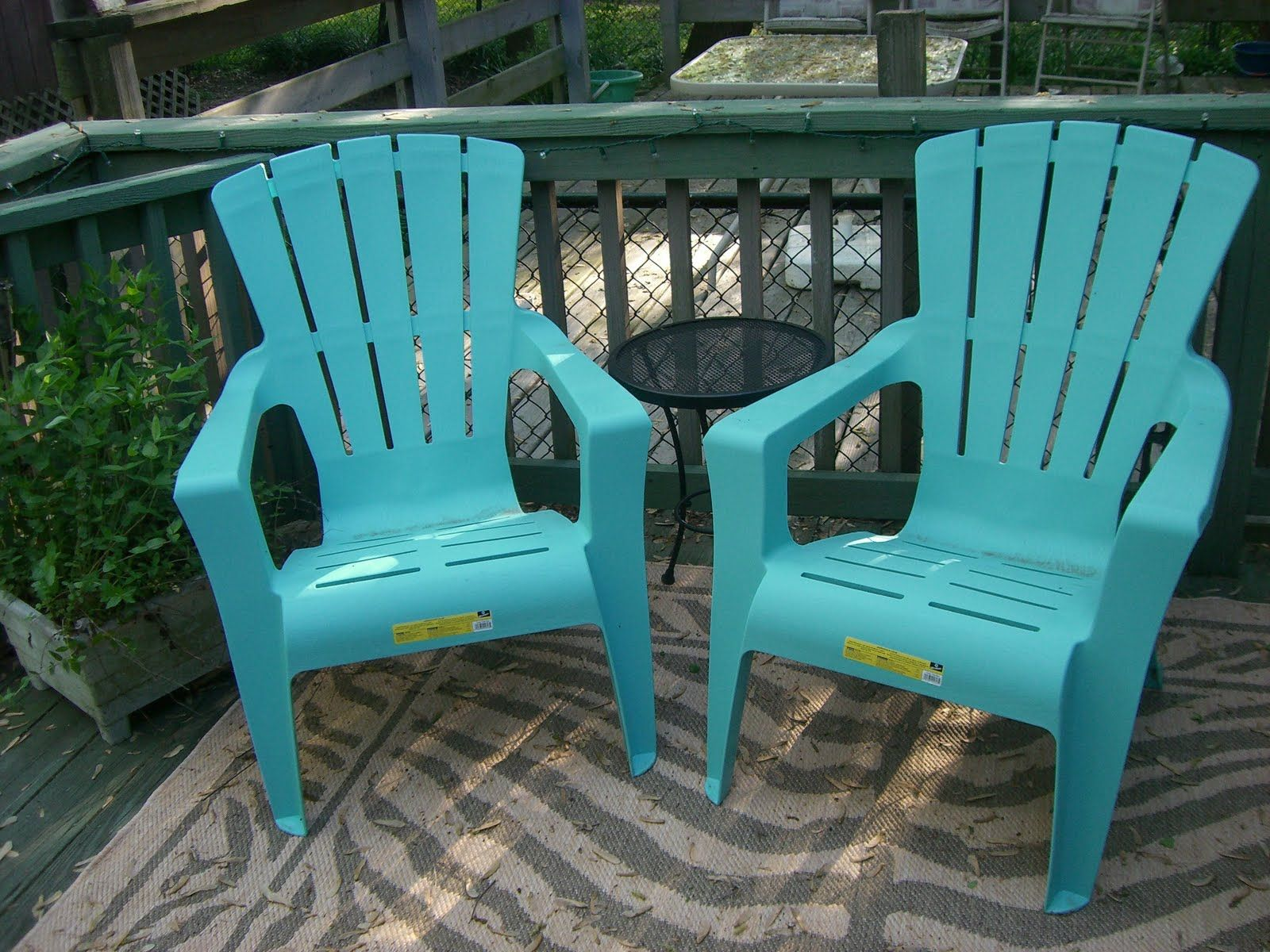 Turquoise Adirondack Chair Plastic Google Search Outdoor Patio