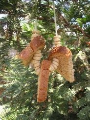 Breakast Bird Feeder:Going to try this with Sekoya:) So simple and easy!