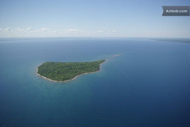 Rabbit Island, Lake Superior