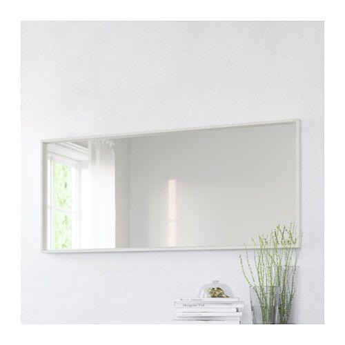 Nissedal Mirror White My Style Ikea Mirror Bedroom
