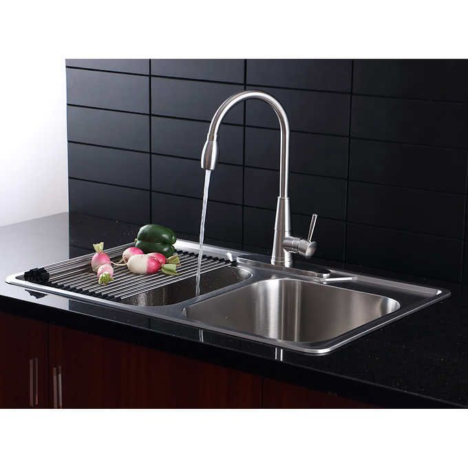 Afa Stainless Double Bowl 33 Kitchen Kitchen Remodel