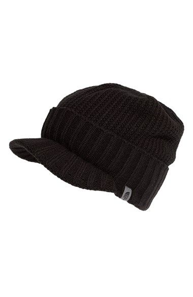 1728abedbbf Free shipping and returns on The North Face  GTO  Rib Knit Visor Beanie  (Men) at Nordstrom.com. A faux fold topping a billed visor styles a rib-knit  beanie ...