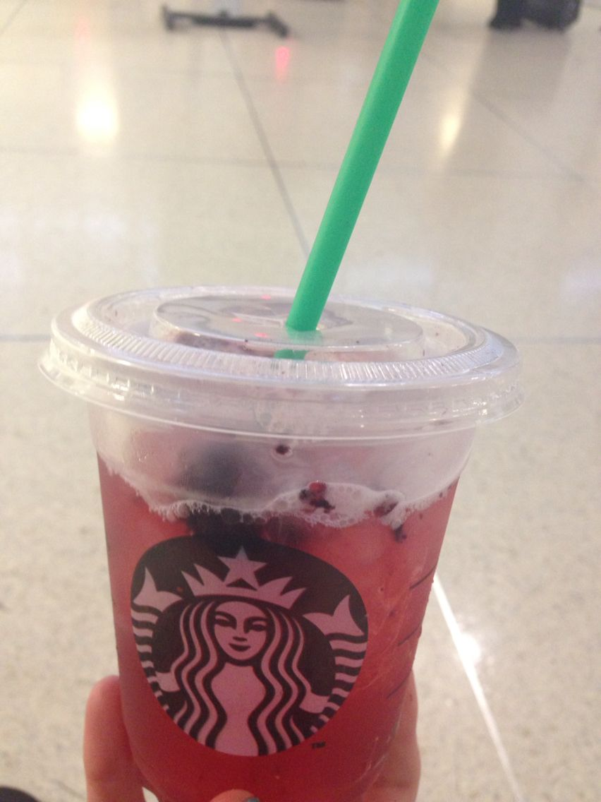 Very Berry Hibiscus Refresher From Starbucks It Was My First