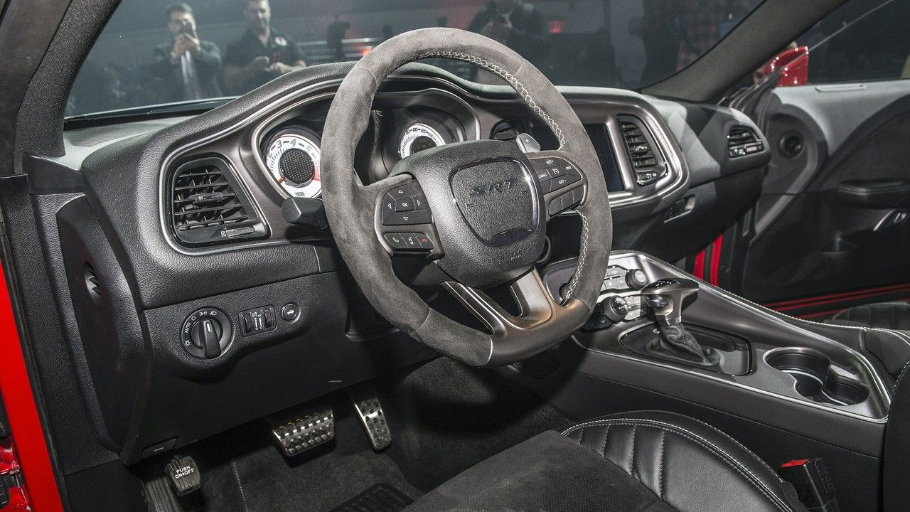 2018 Dodge Challenger Srt Demon Interior Wallpaper